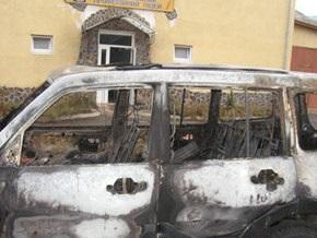 На Закарпатье подорвали джип местного регионала