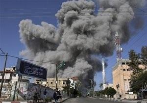 Израильская авиация нанесла серию ударов по сектору Газа