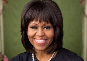 У Мишель Обамы появился официальный фотопортрет с новой прической