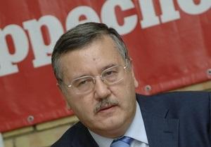 Гриценко: Янукович уже делает шаги, направленные на раскол общества