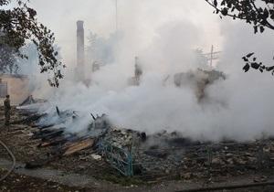 Фотогалерея: Пожар в доме престарелых. В Ровенской погибли 16 человек