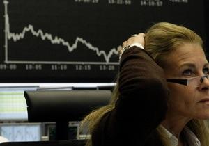 Украинские рынки завершили день резким падением