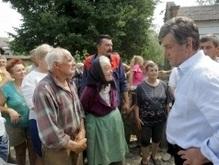 Сегодня Ющенко отправит группу детей в Артек