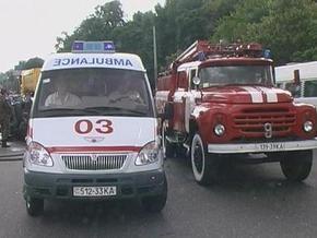 В Волынской области грузовик сбил восемь людей