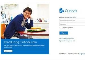 Аудитория почтового сервиса нового поколения от Microsoft превысила 25 млн человек