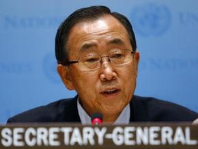 Генеральный секретарь ООН объявляет голодовку