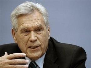 Глава Минфина Германии настаивает на своей отставке