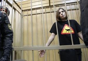 Мосгорсуд признал арест Pussy Riot законным и призвал  не добавлять экспрессии