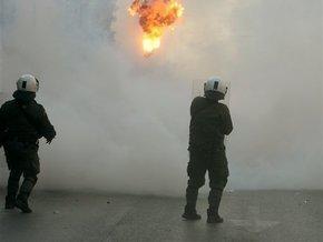 В центре Афин произошел взрыв