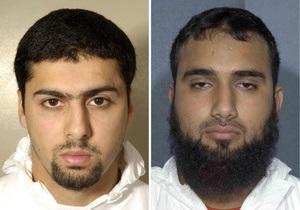 Троим британцам, намеревавшимся взорвать жидкие бомбы в самолетах, дали пожизненные сроки