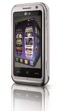 Растут продажи телефона LG ARENA с трехмерным сенсорным интерфейсом S-класса