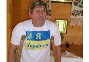 Житель Сум объявил голодовку напротив дома Ющенко в Хоружевке