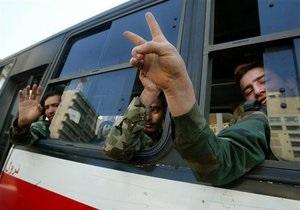 Сирийские революционеры получили свою первую зарплату