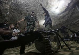 Сирийская оппозиция контролирует две трети страны - израильская разведка