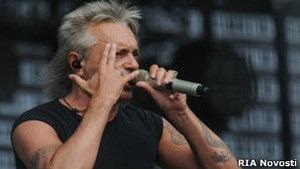 Журналисты не расслышали слова рокера Кинчева о  чуме