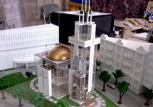 В Киеве построят стеклянную церковь с винтовой лестницей