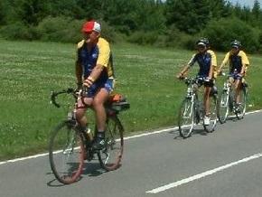 Участников велопробега Европейскими тропами Бандеры наградят