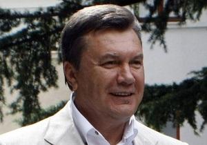 Янукович отметил необходимость реконструкции киевских дорог