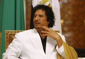 Каддафи выступил с телеобращением к народу Ливии