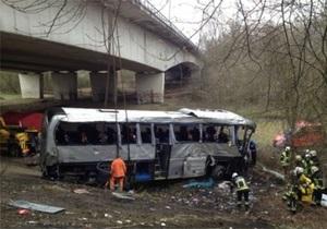 Крушение автобуса в Бельгии - МИД выясняет, были ли в разбившемся в Бельгии автобусе украинские дети