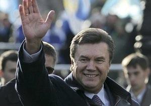 Визит Януковича в Кировоградскую область был перенесен из-за непогоды