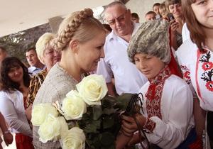 Тимошенко: Энергетика родины Шевченко придает сил для борьбы за Украину