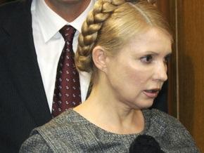 Тимошенко пообщалась с Баррозу по телефону
