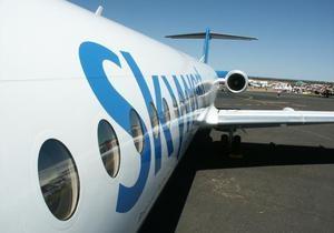 В США самолет совершил вынужденную посадку из-за агрессивного  инопланетянина