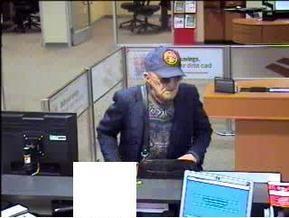 ФБР пытается поймать старика, ограбившего пять банков