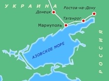 В Азовском море застрял сухогруз