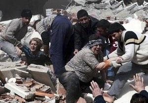 МИД: В результате землетрясения в Турции граждане Украины не пострадали