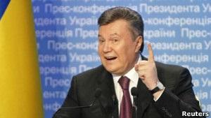Потемкинские города  для Януковича - еженедельники