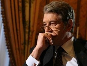 Ющенко: Мы уже не будем такими, какими мы были с точки зрения финансовых возможностей