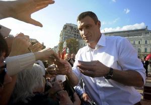 Батьківщина: Отказ Кличко подписать коалиционное соглашение - это шаг в интересах ПР