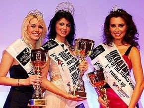 Украинка завоевала второе место на конкурсе Королева мира-2008