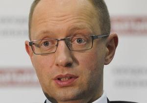 Яценюк потребовал от ЦИКа не признавать Табаловых народными депутатами