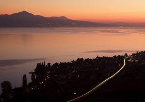 В Женевском озере нашли следы цунами