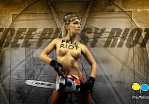 Участница Pussy Riot высказала свое мнение о FEMEN и спиливании креста