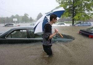 В американских штатах Теннесси и Миссисипи жертвами шторма стали 10 человек