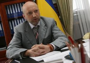 Турчинов прокомментировал информацию о том, что в парламентской драке якобы принимал участие сын Пшонки