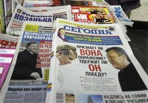Разрыв между Януковичем и Тимошенко увеличивается