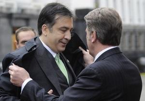Ющенко рассказал об эмоциональности Саакашвили