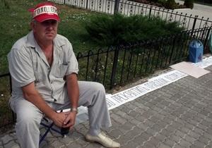 Экс-мэр города в Луганской области объявил голодовку