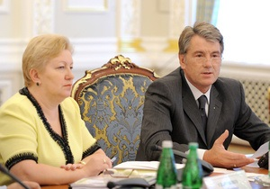 Ющенко выразил недовольство отношением ЕС к Украине