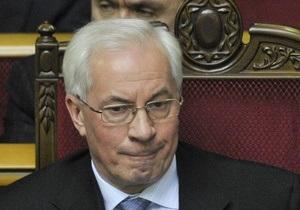 Москаль попросил Азарова уволить первого замглавы МВД