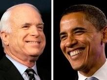 Опрос: Маккейн впервые опередил Обаму