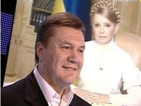 Янукович считает, что Тимошенко должна уступить ему дорогу