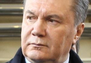 Янукович уволил Лукаш, Герман, Гончарука, Ладного, Портнова и Ставнийчук