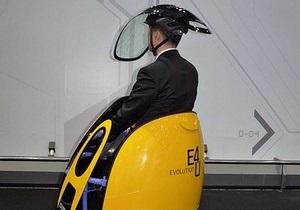 Hyundai представила необычное яйцевидное транспортное средство