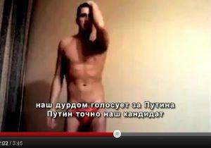 Ролик Наш дурдом голосует за Путина стал хитом Рунета